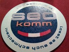 SEOkomm 2010 - Bierdeckel