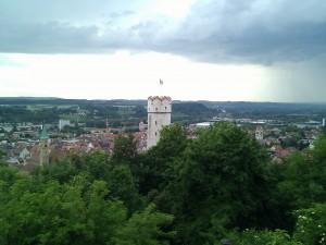 Seo Stammtisch Ravensburg - Blick von der Veitsburg in die Stadt