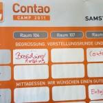 Contao Camp 2011 - Die Planung der einzelnen Sessions und Workshops
