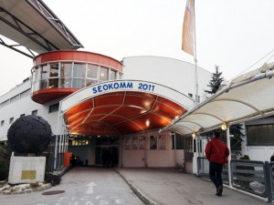 SEOkomm 2011 Eingang