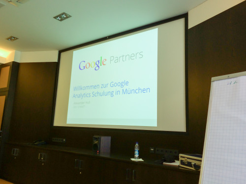 Analytics Seminar im Rahmen der Google Partner Academy