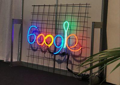 Google war mit seiner Lernwerkstatt vor Ort