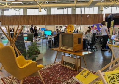 MARKTPRAXIS mit der Gelben Fabrik auf der Dienstleistungsbörse in Dornbirn 2