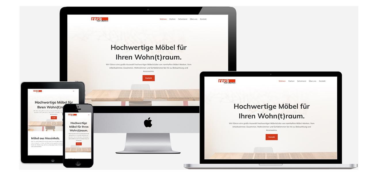 Responsive Webdesign - Für Mobilgeräte optimierte Websites