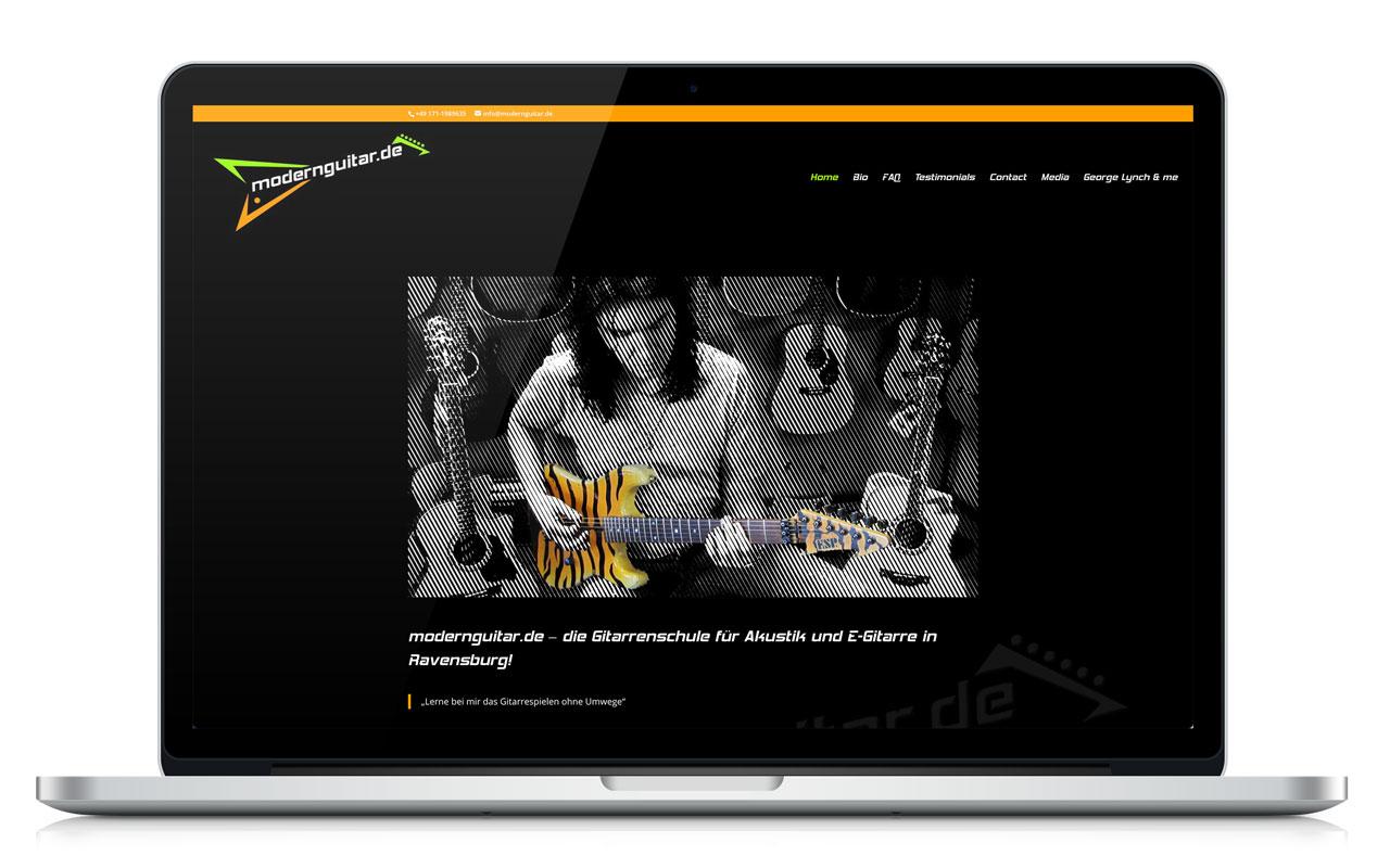 Website modernguitar.de